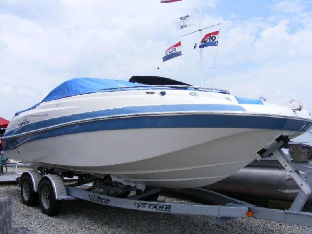 2011 23' Nautic Star 230 OB Deck
