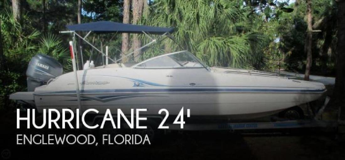 2005 Hurricane Sun Deck 237 Englewood FL