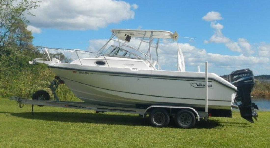 2000 - Boston Whaler Boats - 23 Conquest in Orlando, FL