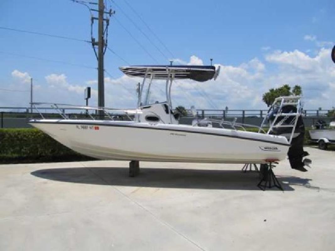 $65,700 2008 Boston Whaler 23 DAUNTLESS