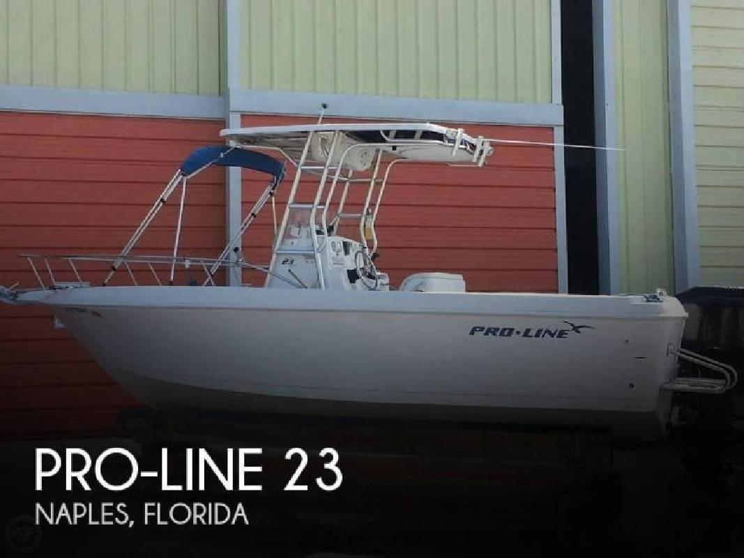 2005 Pro-Line Boats 23 Naples FL