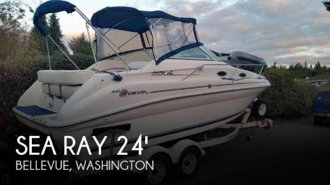 1996 Sea Ray Boats 240 Sundancer Anacortes WA
