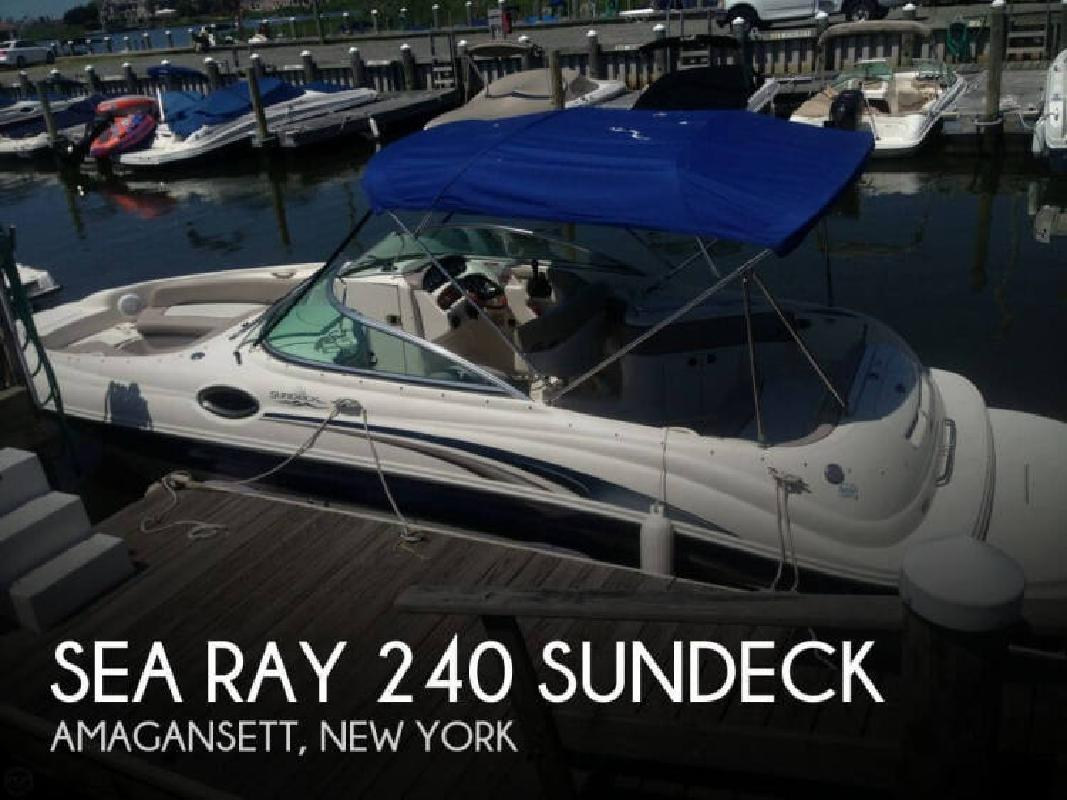 2004 Sea Ray Boats 240 SunDeck Amagansett NY
