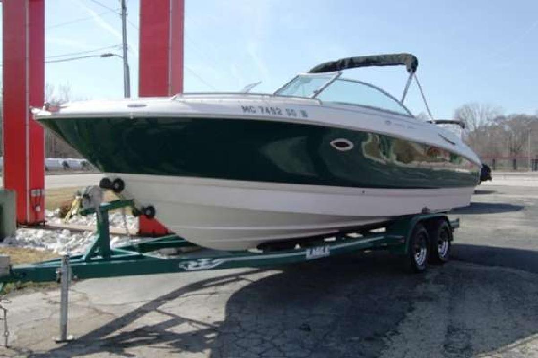 2002 24 Monterey Boats 248 LS MONTURA For Sale In Muskegon