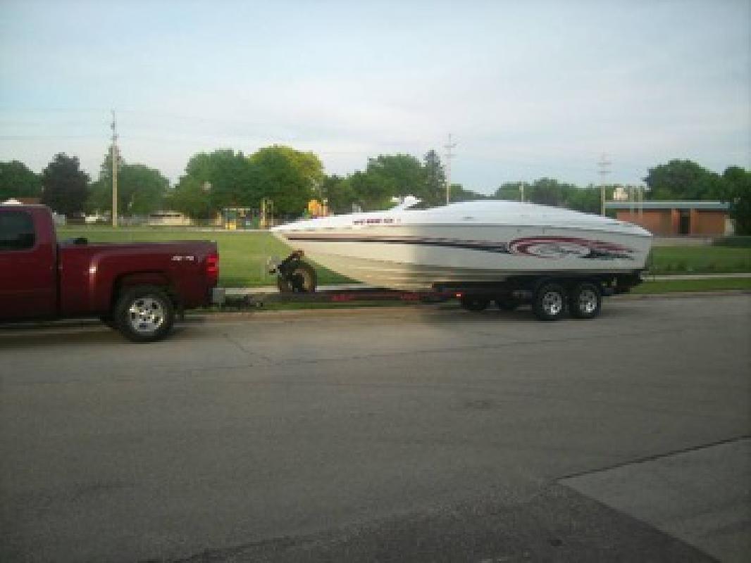 2002 Baja H2X 24.5' boat