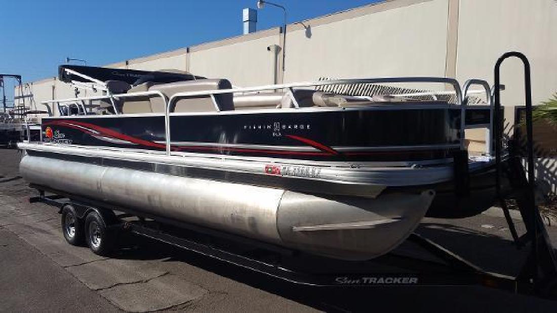 2014 Sun Tracker Fishin- Barge 24 DLX Anaheim CA