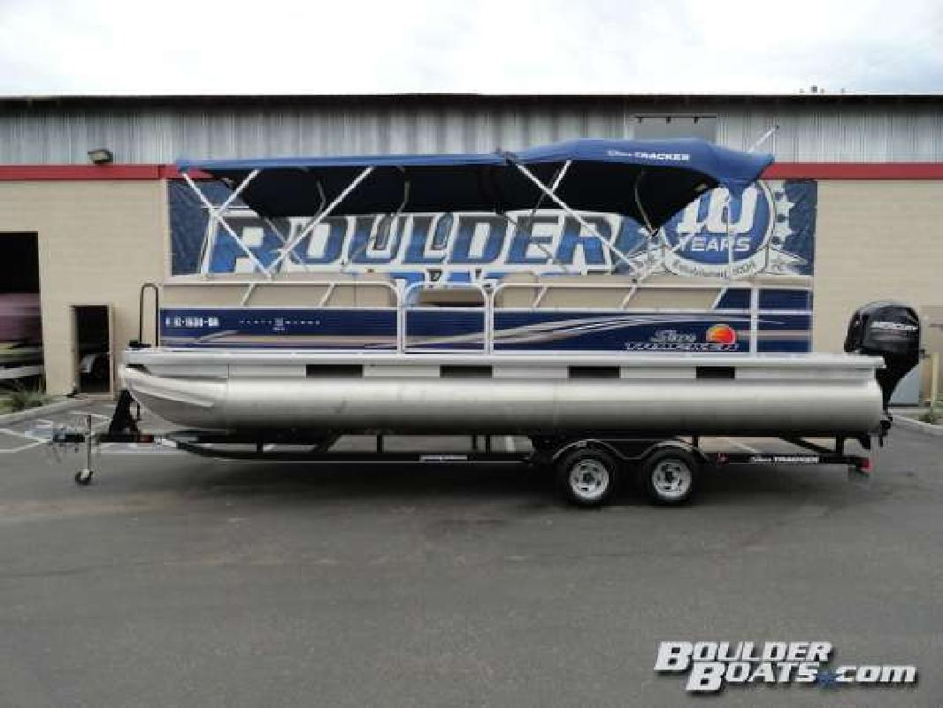2013 SUN TRACKER Party Barge 24 DLX Henderson NV
