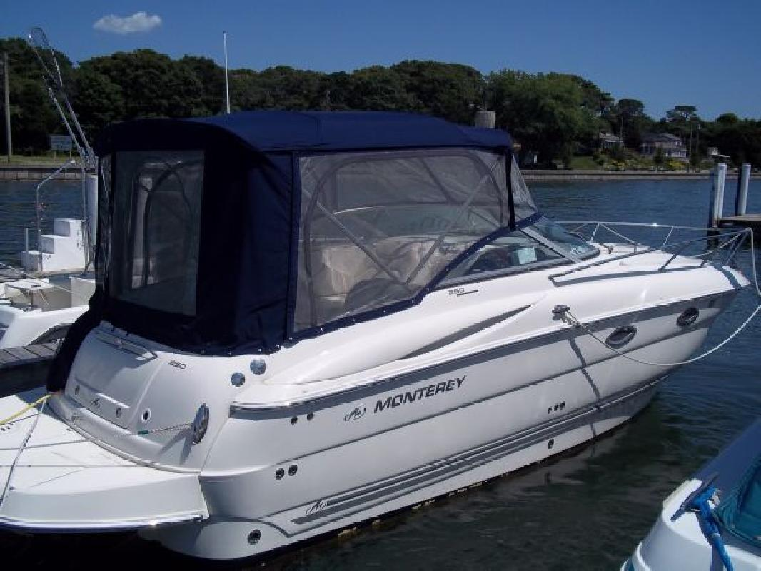 2007 24' Monterey Boats 250 Cruiser, LOW HOURS!