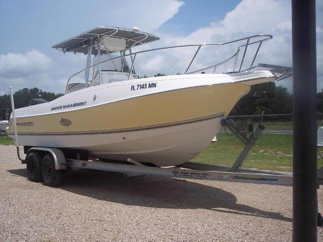 2002 25 39 aquasport 250 osprey for sale in perry florida for Best places to fish in florida without a boat