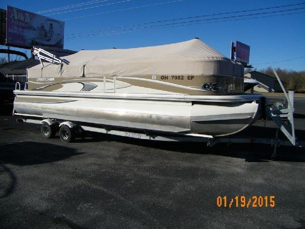 2009 - Crestliner Boats - Grand Cayman 2585 Tritoon in Russell Springs, KY