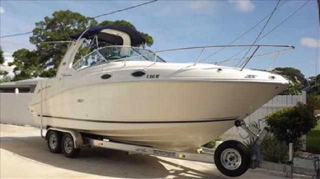 $55,900 2005 Sea Ray 260 SUNDANCER