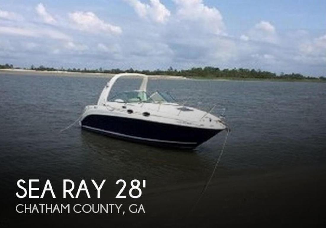 2004 Sea Ray Boats 260 Sundancer Savannah GA