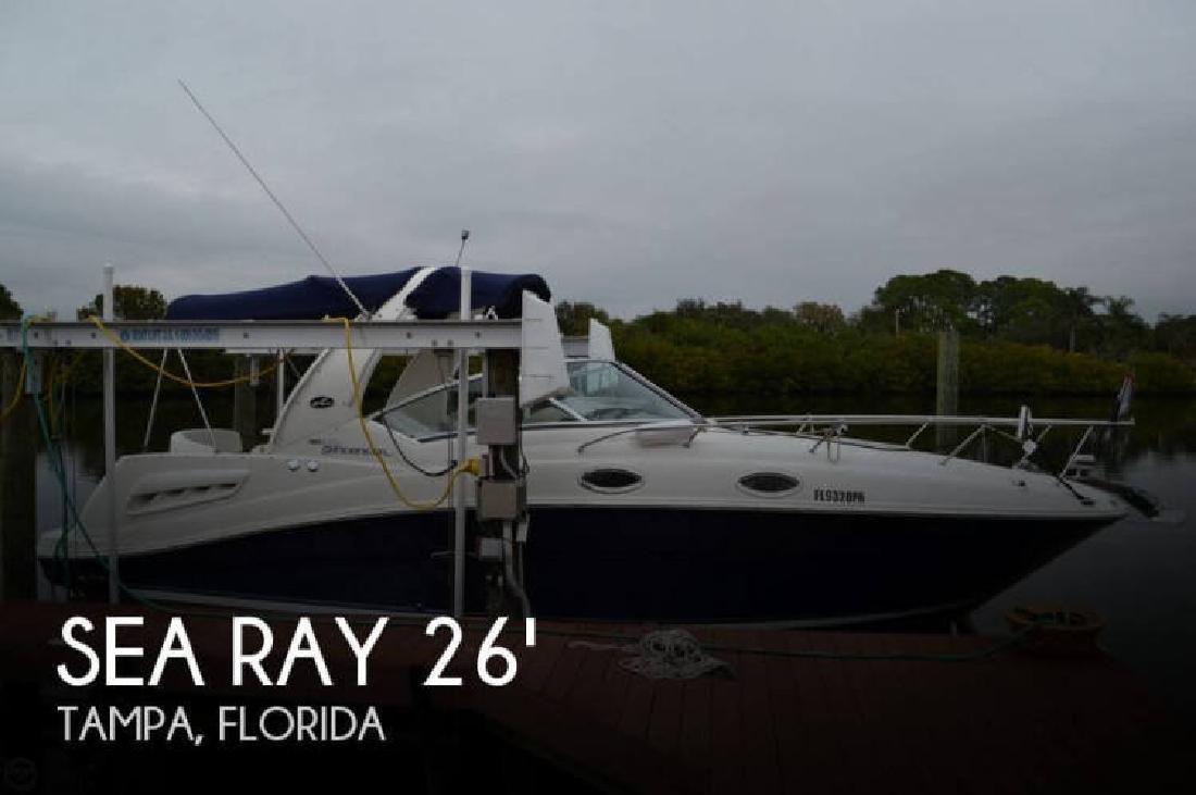 2006 Sea Ray Boats 260 Sundancer Tampa FL