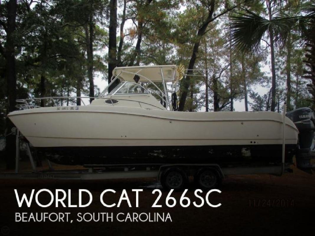 2000 World Cat 266SC Beaufort SC