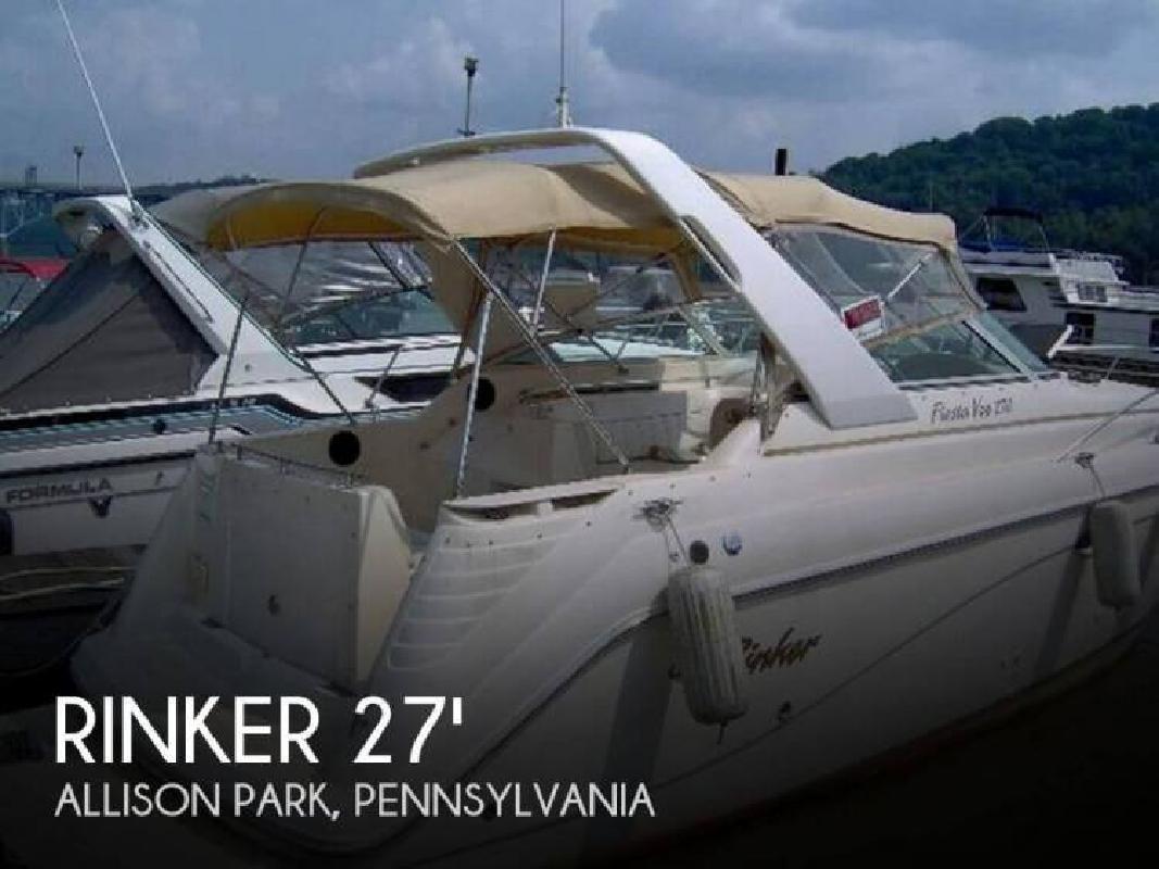 2000 Rinker Boats Fiesta Vee 270 Allison Park PA