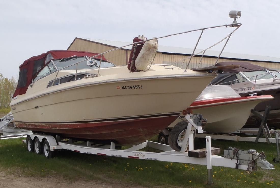 1986 - Sea Ray Boats - 270 Sundancer in Au Gres, MI