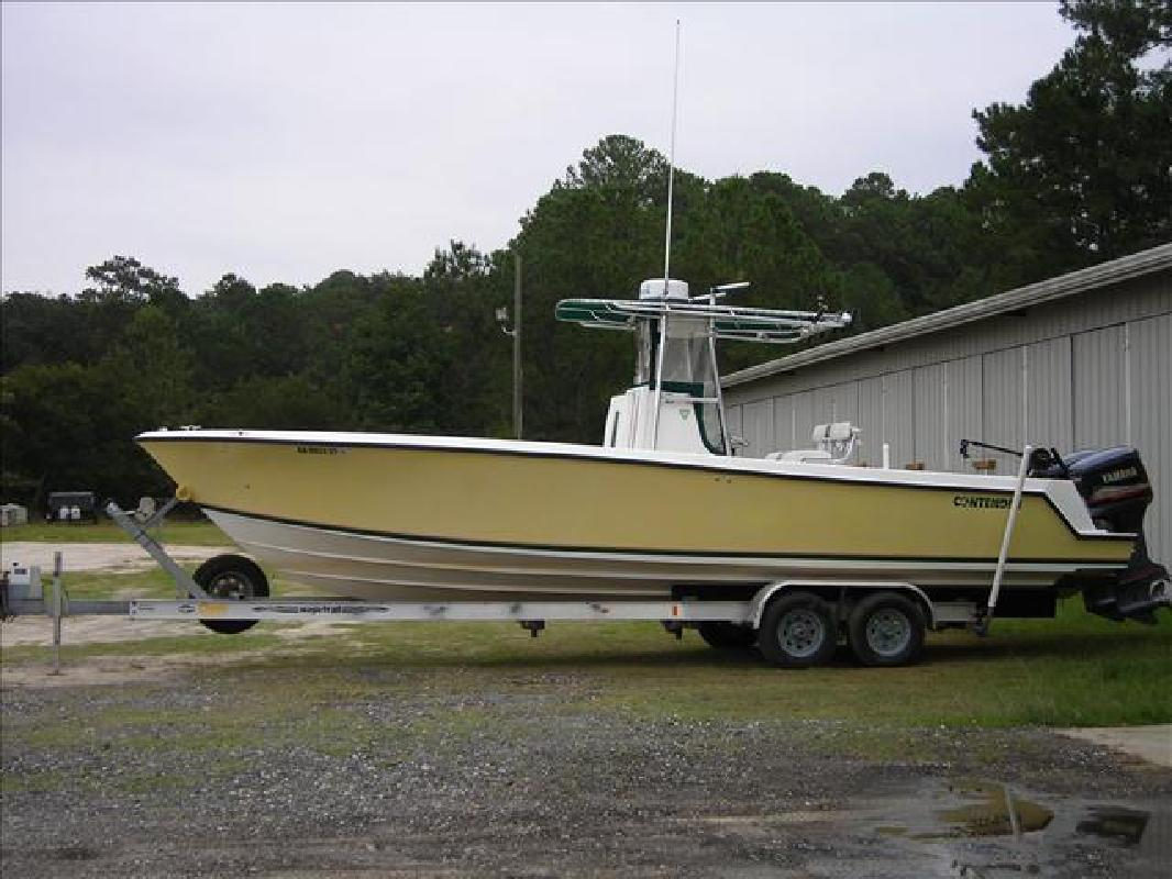 2000 27 39 contender open 27 39 center console for sale in for Yamaha outboards savannah ga