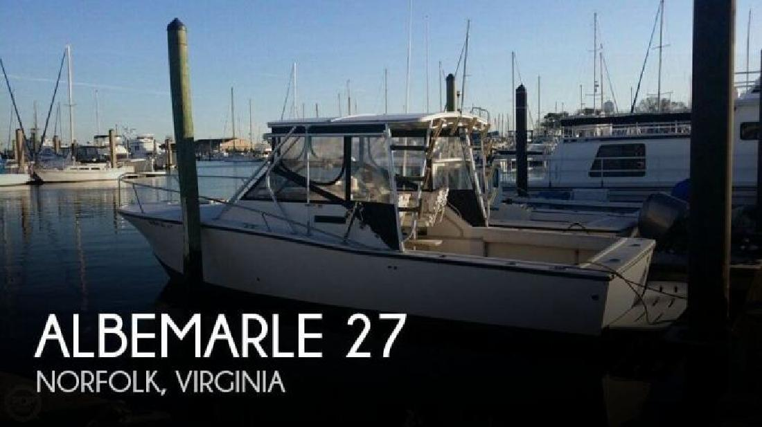 Albemarle new and used boats for sale in virginia for Fishing in norfolk va