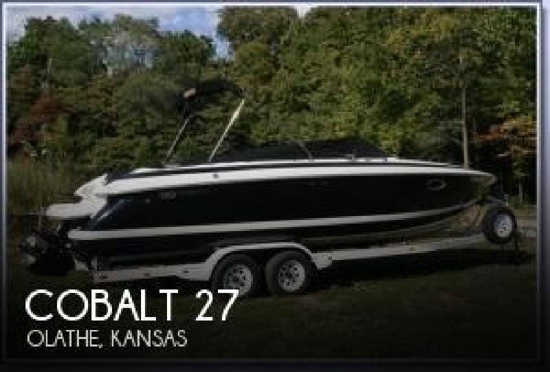 2002 Cobalt Boats 27 Olathe KS