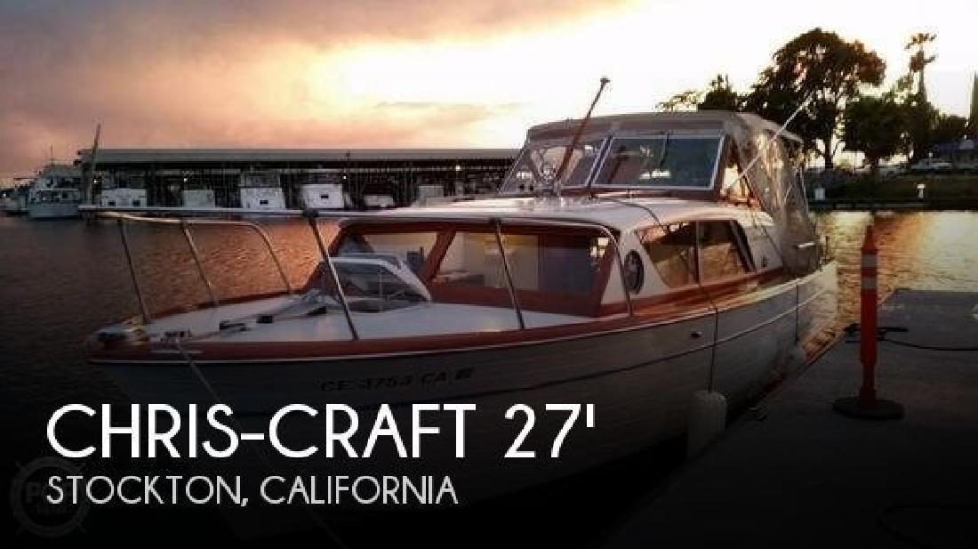 1962 Chris Craft Constellation 28 Stockton CA