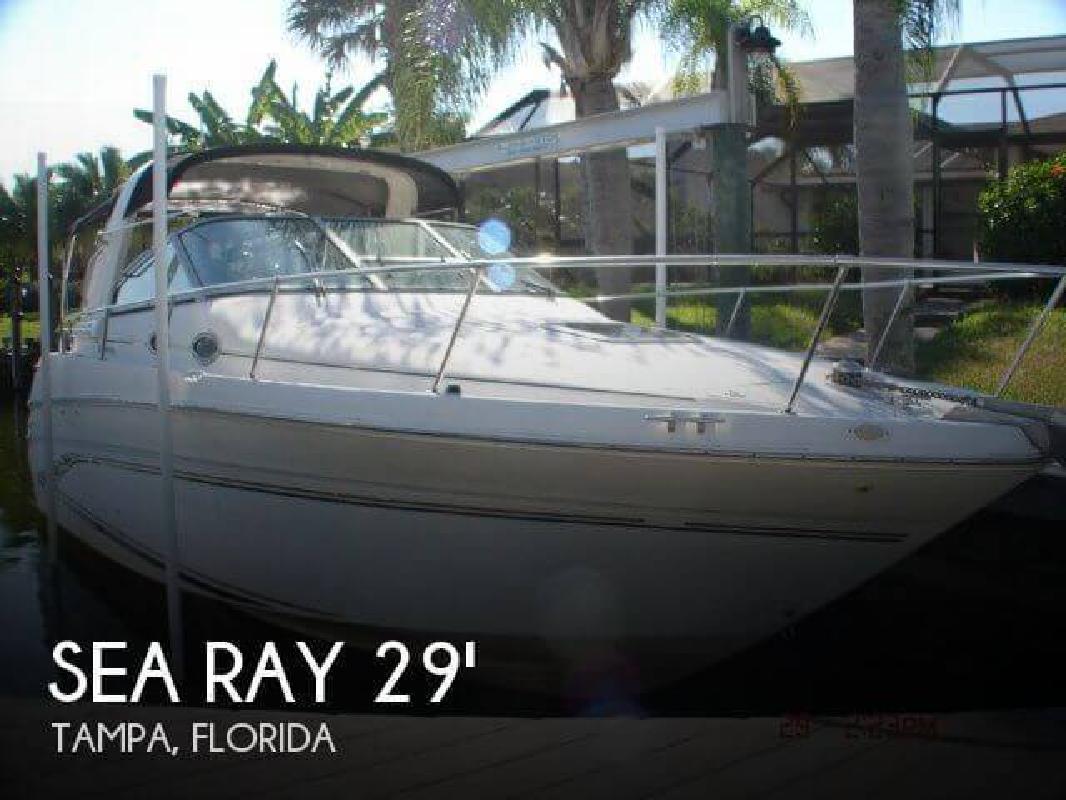 1998 Sea Ray Boats 290 Sundancer Tampa FL