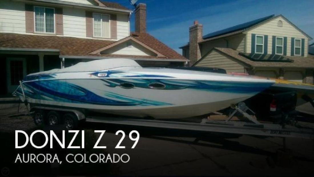 1987 Donzi Marine Z 29 Aurora CO