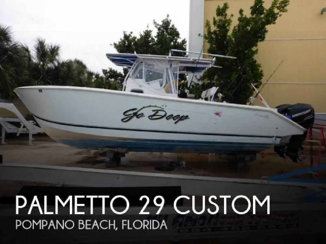 2002 Palmetto Custom by Sea-Pro Boats 29 Custom Pompano Beach FL