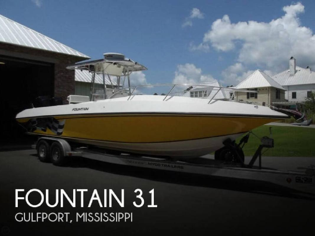 2003 Fountain Powerboats 31 Gulfport MS