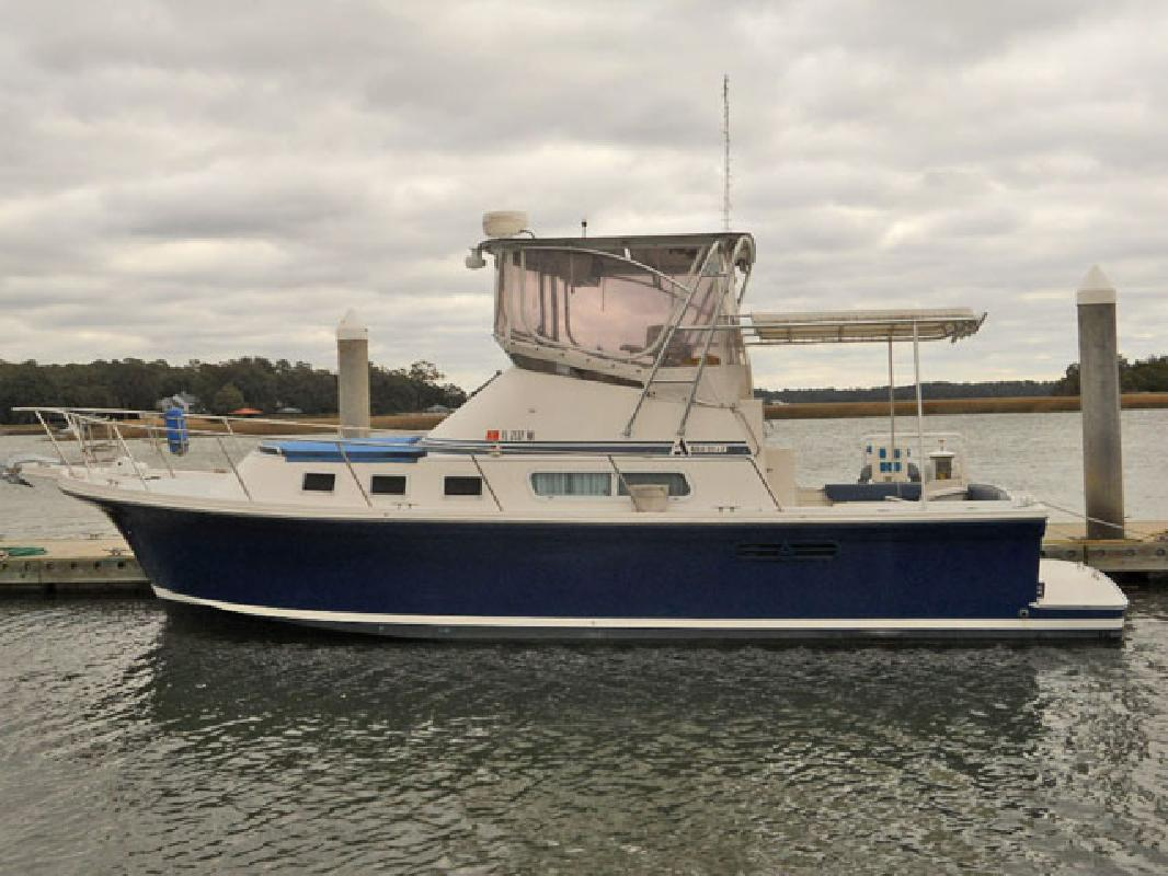 2001 34' Albin 32+2 COMMAND BRIDGE for sale in Savannah, Georgia | All Boat ...