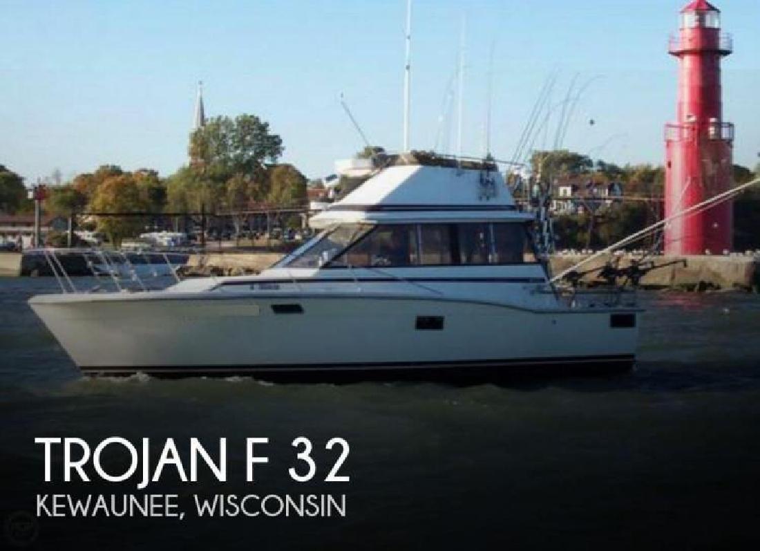1973 Trojan Yachts F 32 Kewaunee WI
