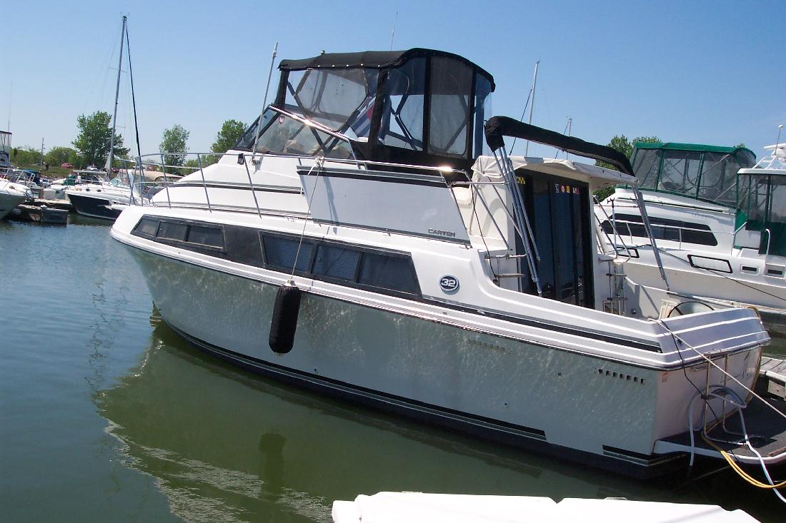 1989 32' Carver 32 Mariner for sale in Seneca, Illinois ...
