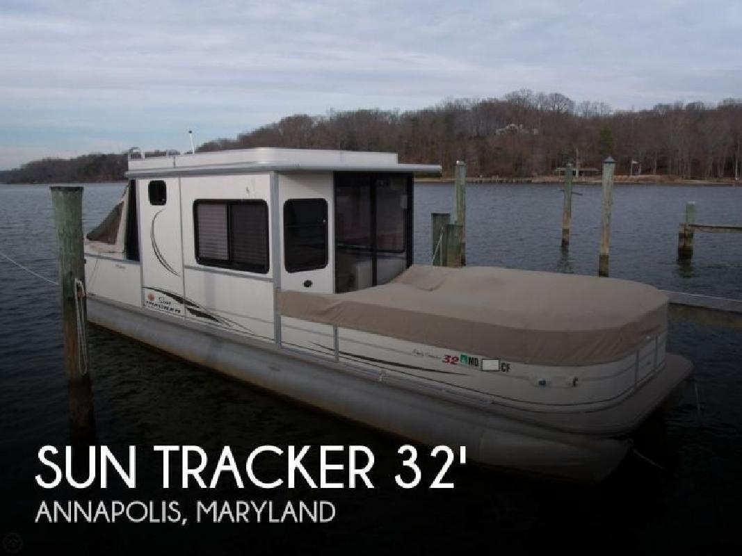 2005 Sun Tracker Party Cruiser 32 Regency Edition Annapolis MD
