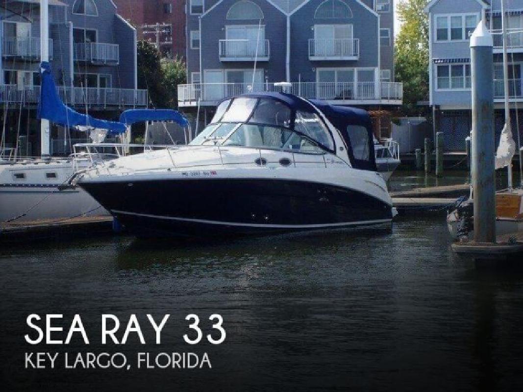 2006 Sea Ray Boats 33 Key Largo FL