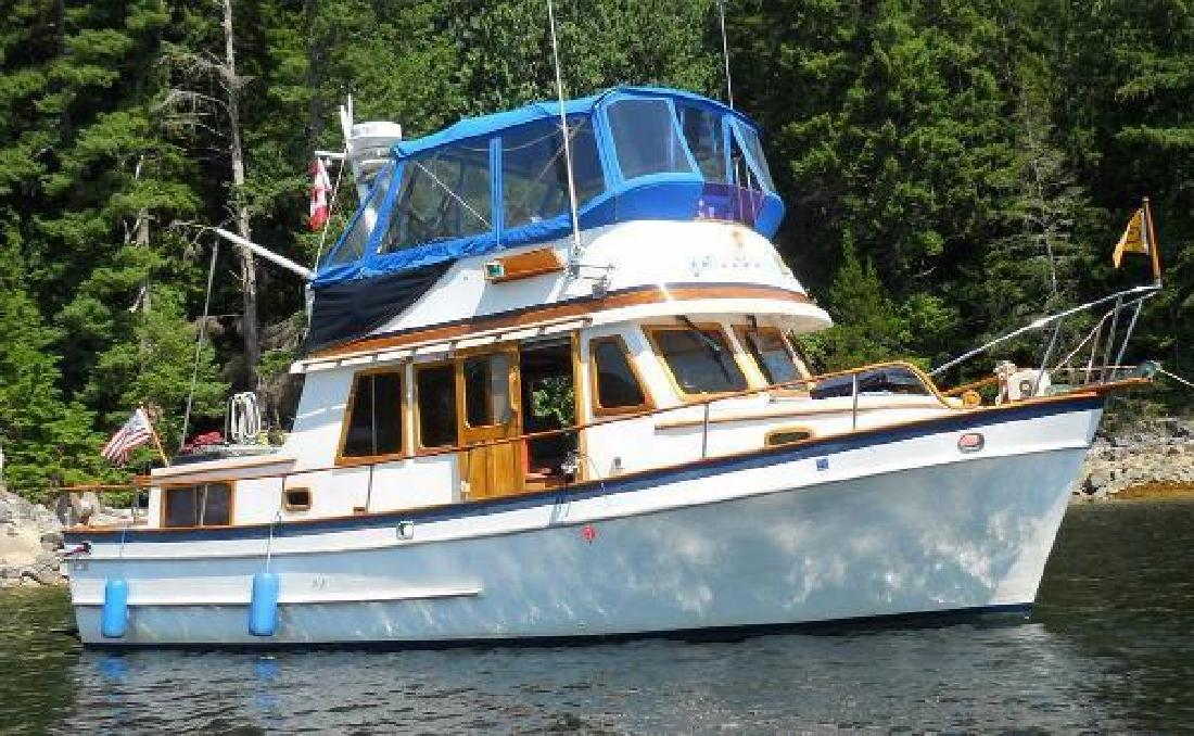 1977 Puget Trawler 33 Seattle Wa For Sale In Seattle