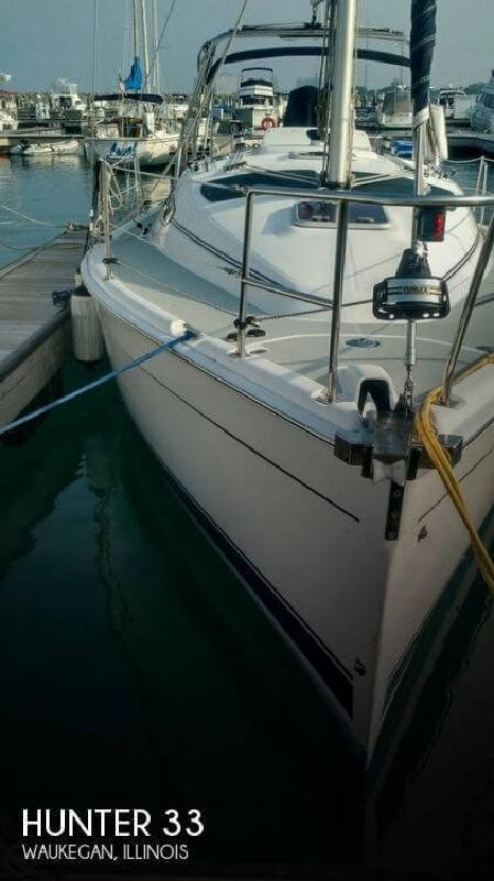 2006 Hunter Marine 33 Waukegan IL