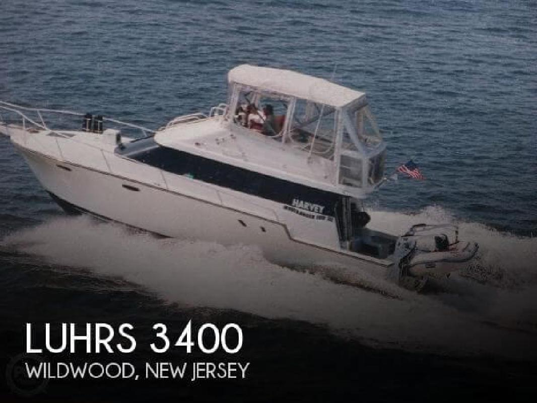 1991 Luhrs Boats 3400 Wildwood NJ