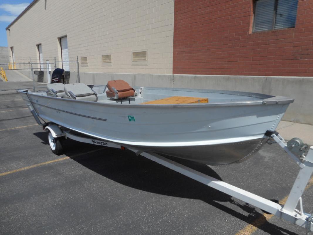 1994 16 Starcraft SF 16 Aluminum Fishing Boat in 3600 S Main St. In Salt Lake City, UT