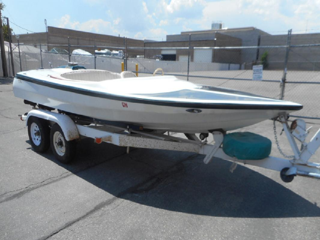 1976 18 Avenger Bubble Deck 180 Jet Boat in 3600 S Main St. In Salt Lake City, UT
