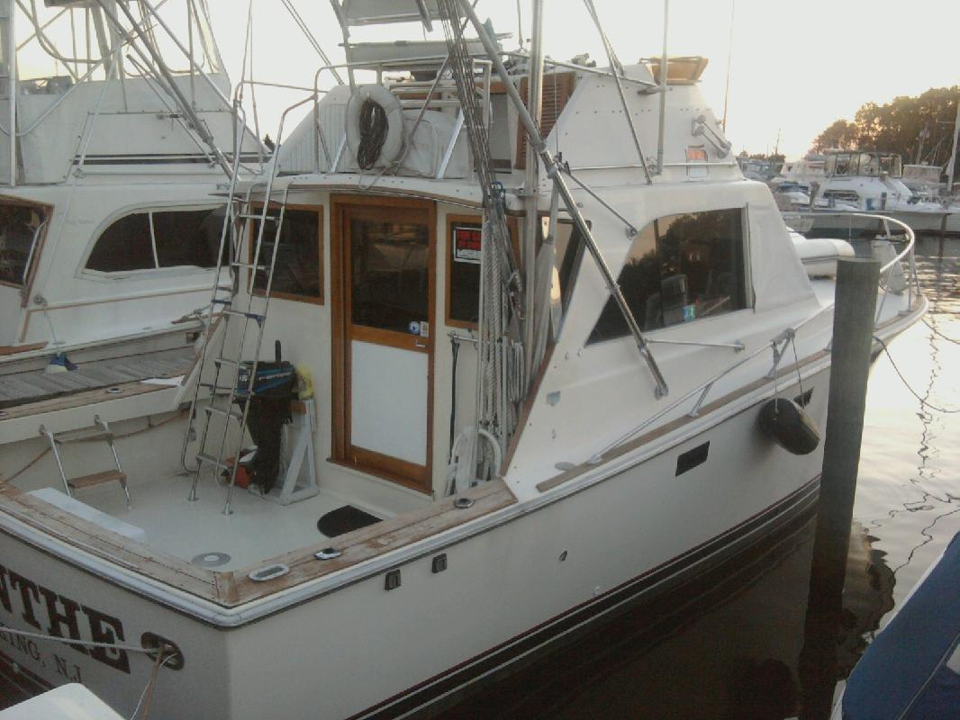 1973 36 Pacemaker 36 Sf For Sale In Toms River New Jersey All Boat Listings Com
