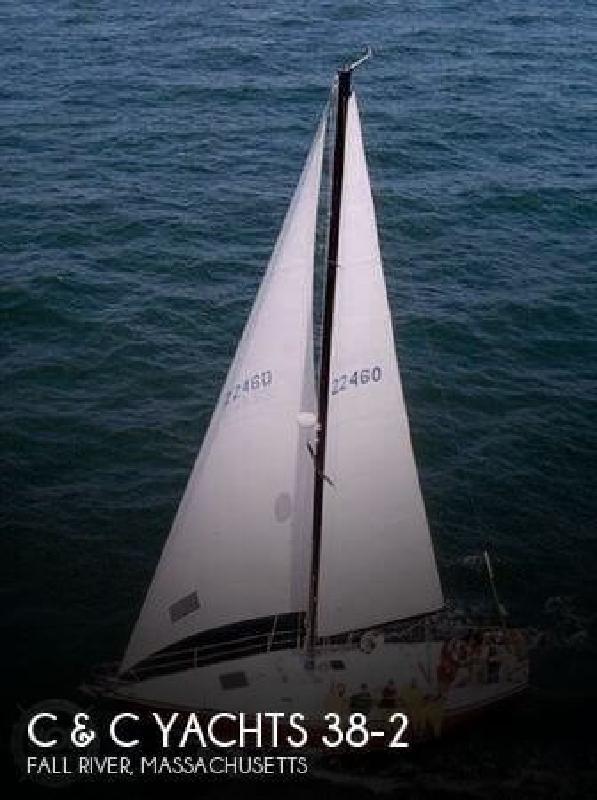 1976 C C Yachts 38-2 Fall River MA