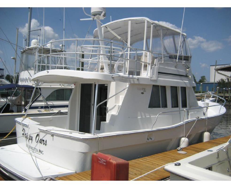 2001 39' MAINSHIP 390 Sedan in Wilmington, North Carolina