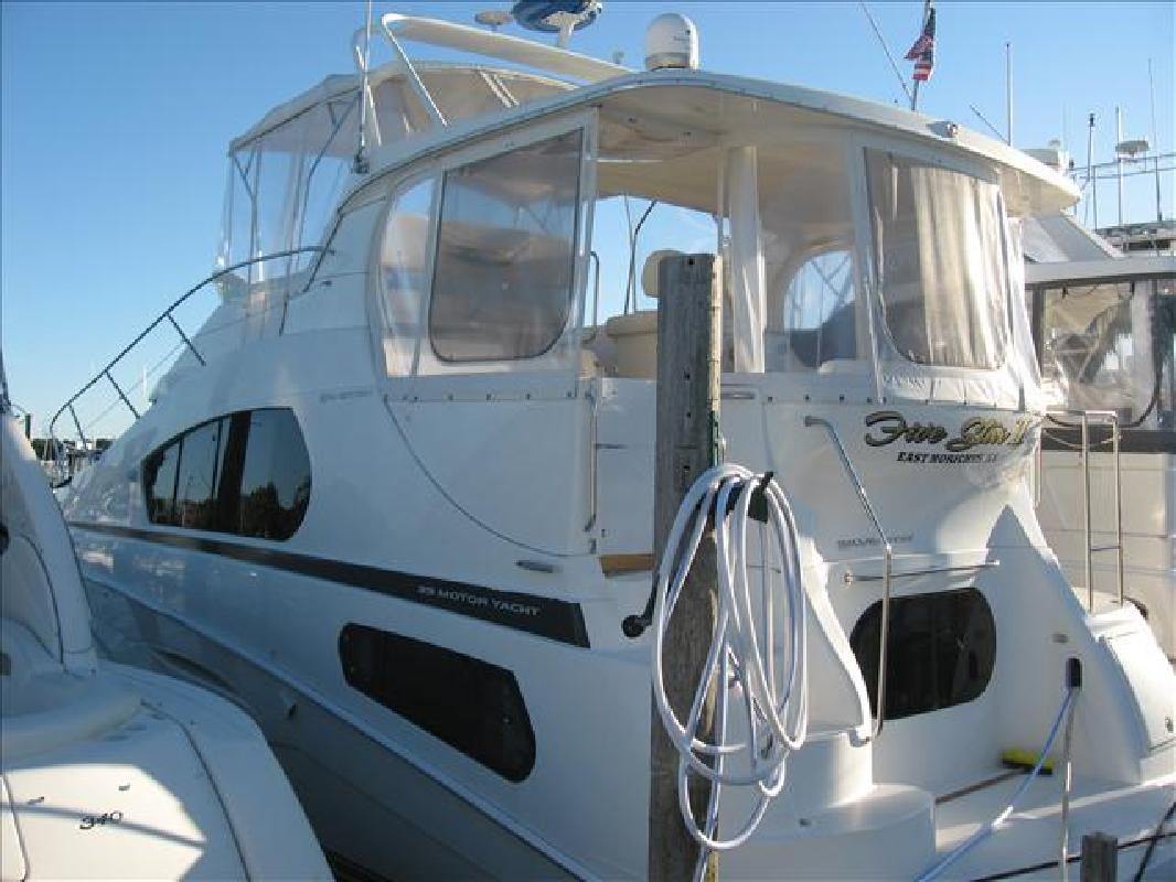 2003 39 39 silverton 392 motor yacht for sale in moriches for Moriches boat and motor