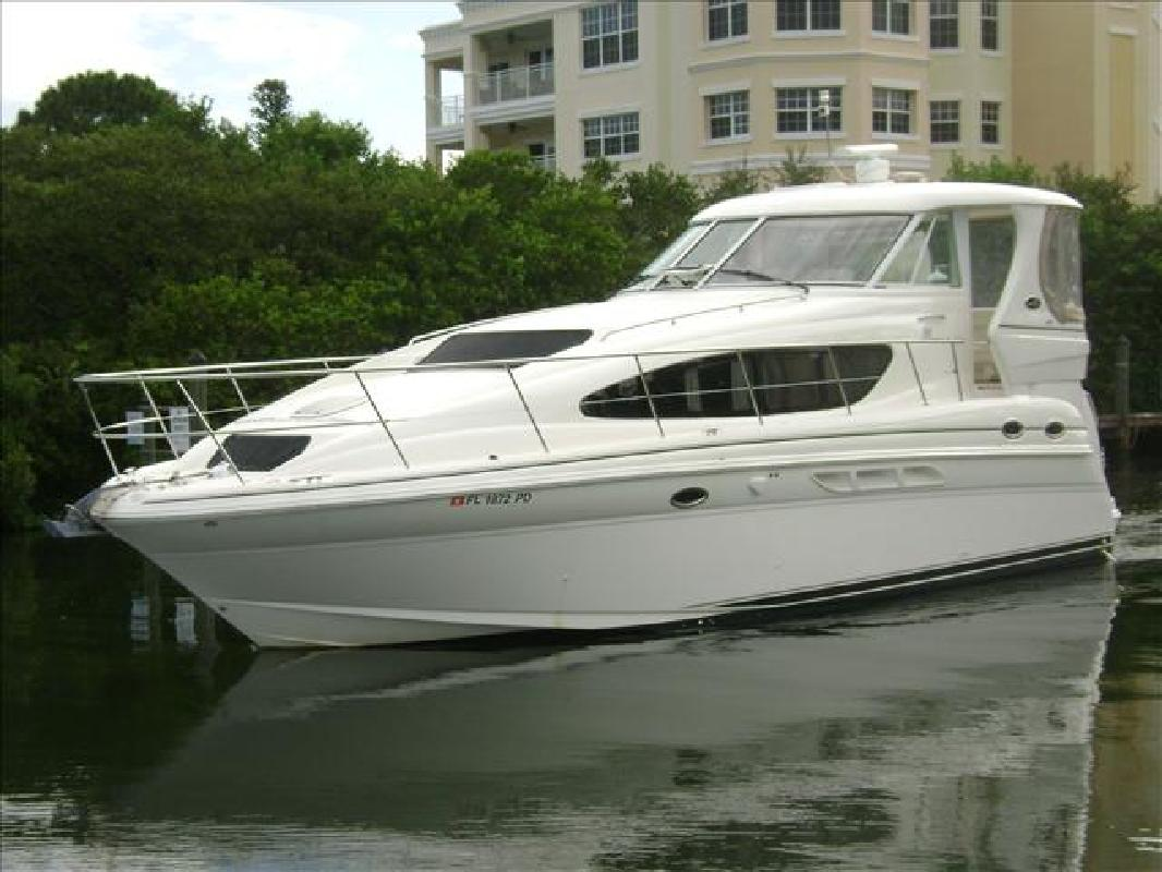 2004 39 39 sea ray 39 motor yacht for sale in sarasota for Sea ray motor yacht for sale