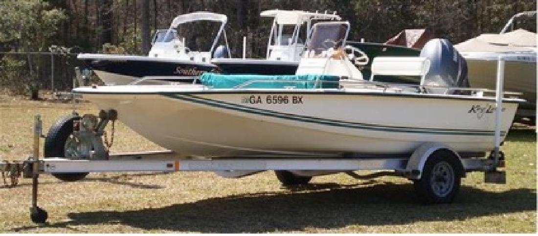 $14,995 2007 Key Largo 186 Bay / Yamaha 115TLR 4-Stroke (80 Hours) / Trailer As Shown In
