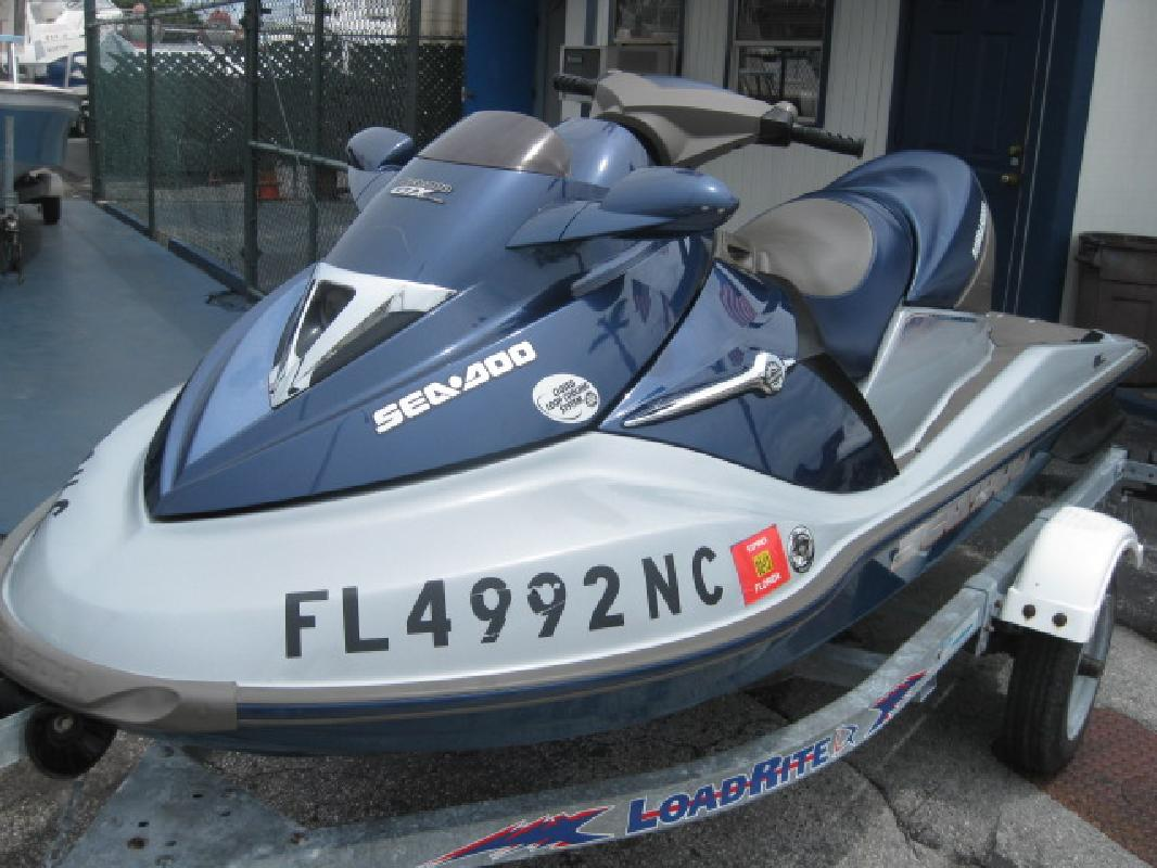 2004 10' Sea Doo GTX 4-TEC 185hp Supercharged Ltd  for sale