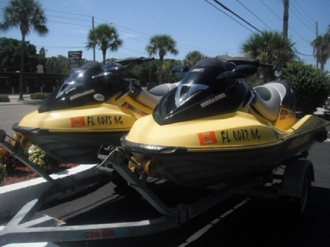 $2,666 Two 2004 SEA-DOO GTX 4-TEC SUPERCHARGED 185HP for