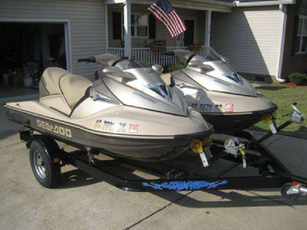 $10,000 TWO 2003 Sea-Doo Jet Skis GTX 4-TEC Supercharged