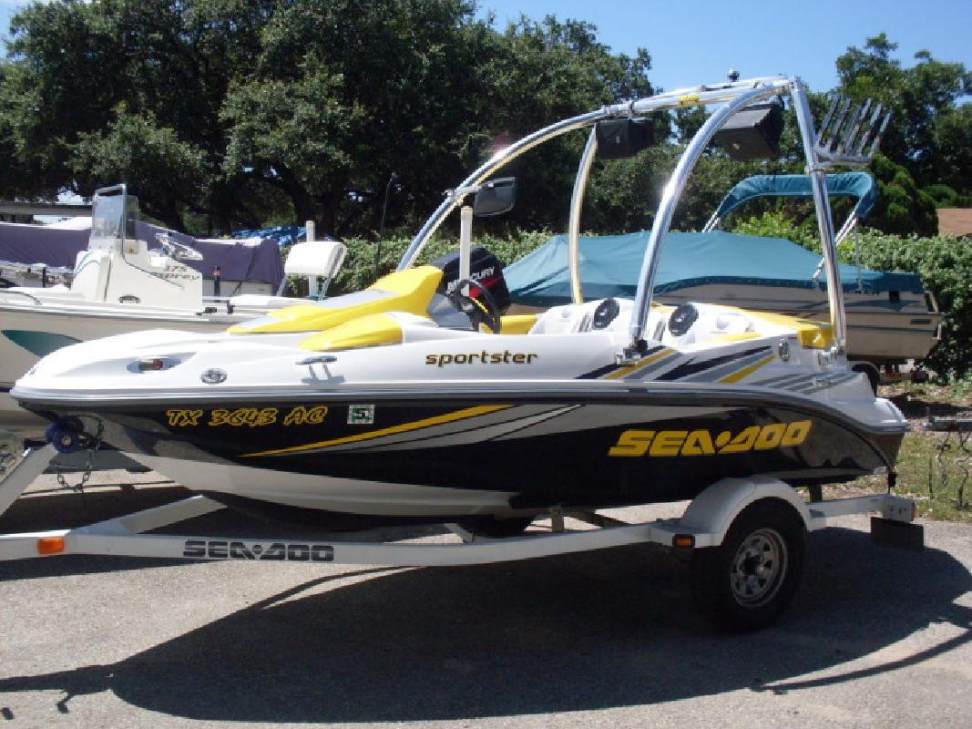 2006 seadoo boats sportster 4 tec tower in austin tx for Austin boats motors lakeway tx