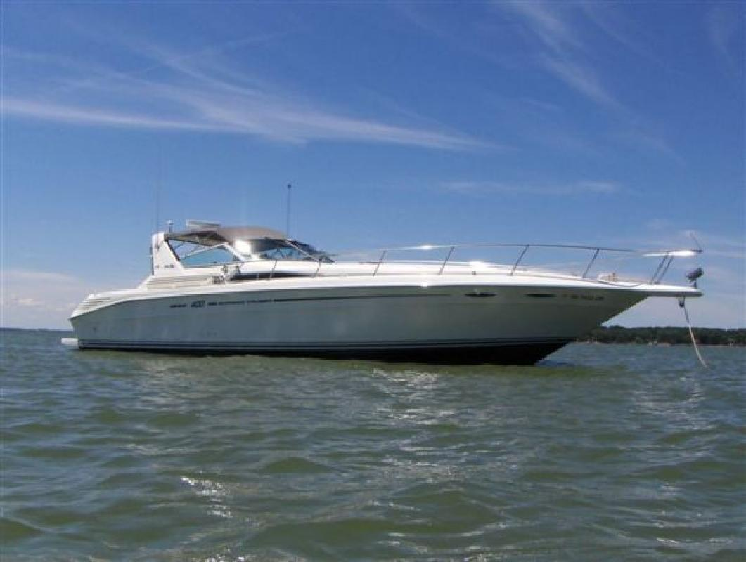1994 40 Sea Ray 400 Express Cruiser For Sale In Sandusky