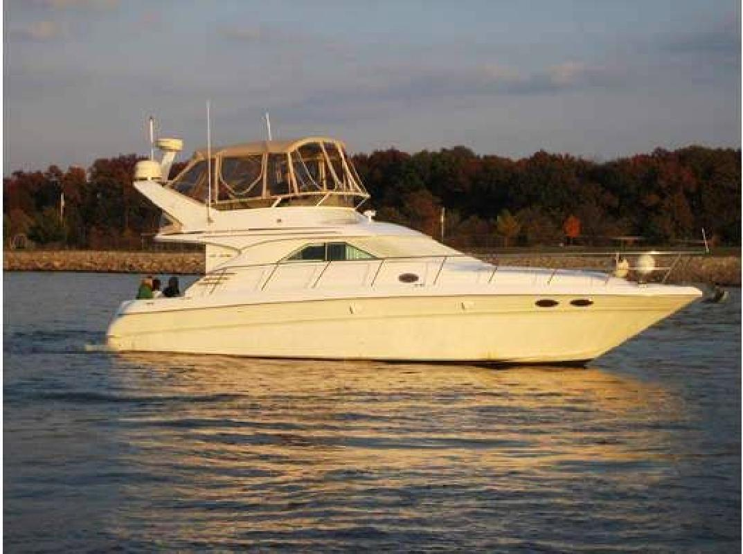 1997 40' Sea Ray 400 Sedan Flybridge